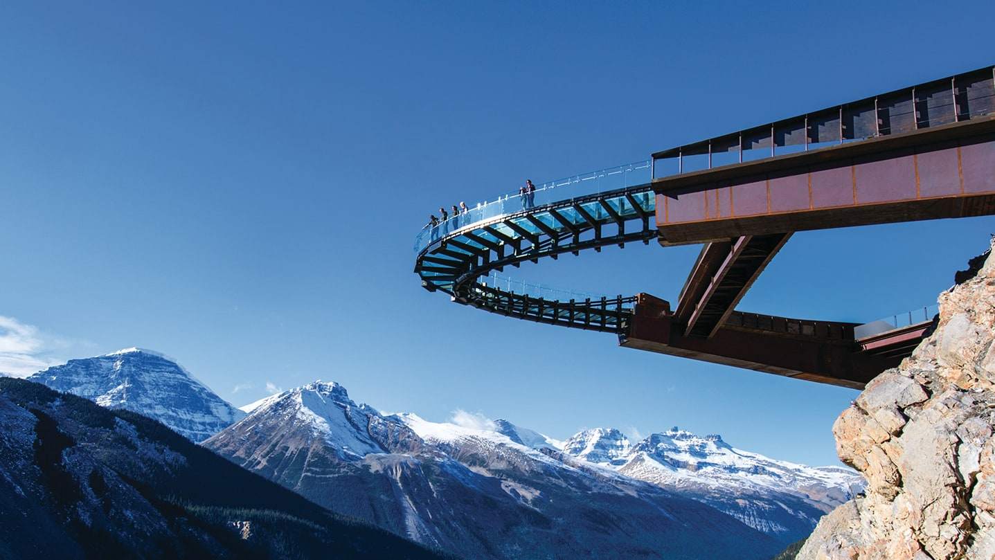 Slider Glacier Skywalk